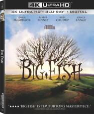 Big Fish (New 4K Uhd Blu-ray + Digital) - New Sealed !
