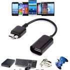 Micro USB 3.0 OTG Host Cable Adapter For Samsung Galaxy Note 3 S5 i9600 G900_sx