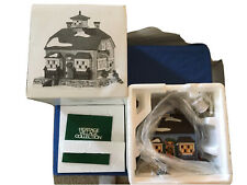 Department 56 Chowder House #56571 Retired New England Village W/ Light Vgc
