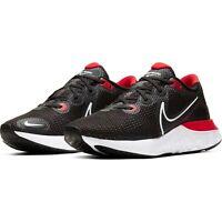Nike Renew Run Mens Running Trainers Shoes Ck6357 005 Black Red UK 8.5 / EU 43