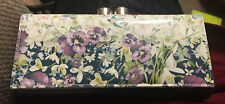 New Genuine Ted Baker Enchanted Dreams Purple & Mint Green Bobble Matinee Purse