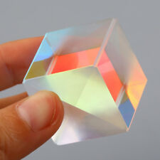 2.5cm Defective Optical Galss RGB Prism X-CUBE for Physics Teach Decoration Art