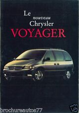 CHRYSLER VOYAGER Catalogue commercial