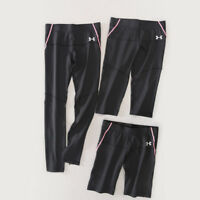 Under Armour Women's Compression Leggings Pants Capris Shorts with pocket XS-2XL