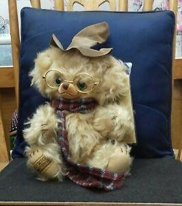 Merrythought Cheeky Bear The Professor L/e 57/500
