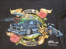 Guns N Roses bande vintage Uzi suicide 90 S Tour T Shirt/thé
