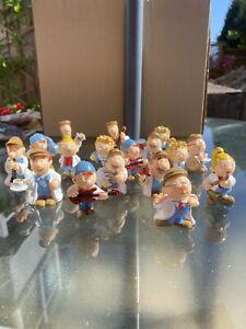 Tetley Tea Folk Collectable Figures (17)