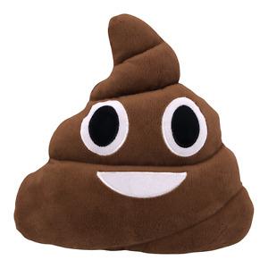"Poop Plush Pillow Emoji Plush Smiley Face Emoticon 13""  Stuffed Cushion"