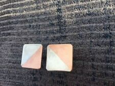 Mexican Mixed Metal Sterling Silver & Copper Men's Cuff links 7/8