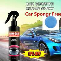 Nano Car Scratch Removal Spray Repair Polish Ceramic Coating Liquid 120ML+Sponge