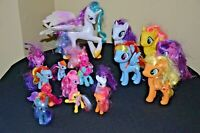 Lot 16 My Little Pony Talking Celestia Light Up Unicorn and others