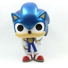 Funko Pop Sonic The Hedgehog Sonic With Ring METALLIC  Vinyl Games