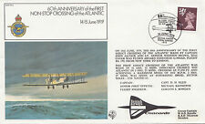 (04366) CLEARANCE GB Cover RAF FF3 1st Atlantic Crossing BFPS1643 14 June 1979