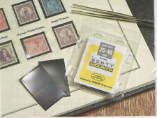 Scott/Prinz Pre-Cut Strips 265mm Long Stamp Mounts 265x231 #961 Clear