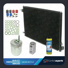New A/C AC Condenser Kit Fits: 2000 2001 2002 Jaguar S-Type V6 3.0L V8 4.0L