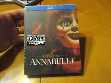 ANNABELLE BLU RAY Steelbook Limited Edition EXCLUSIVE FYE HORROR