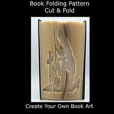 Book Folding Pattern - Cut & Fold - Soldier Rememberance