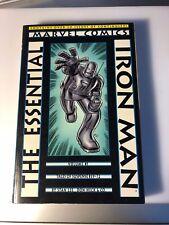 ESSENTAIL IRON MAN Vol. 1 - Marvel TPB 1st print 2000