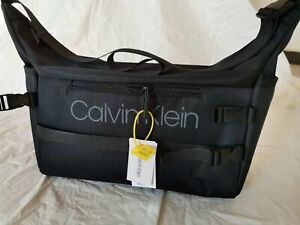 Men's Calvin Klein Canvas Travel Shoulder Bag Cross Body Bags Casual Bags UK