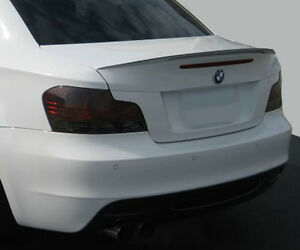 BMW 1 series 128 135 smoked tinted tail light covers vinyl 08-13 $5 refund avail