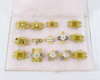 Mixed Lot Motorola Gold RF Power Transistors