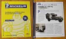 Fascicule Michelin, la collection officielle, Altaya, n°14, Citroën C4 1000 KG