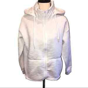 Fabletics Lotta Removable Hood Mock Neck Camo Jacket SZ XS