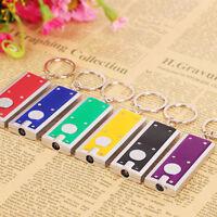 1/2/5/10STK Schlüsselanhänger Mini LED Taschenlampe Schlüsselleuchte Geschenk