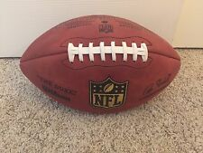Official Wilson NFL The Duke Football On Field Game Ball Authentic Leather Used