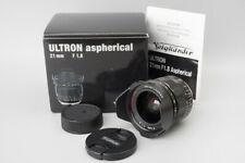 Voigtlander Ultron 21mm f/1.8 F1.8 Aspherical Lens, Wide Angle VM, Leica M Mount