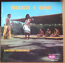 "MARCEL BIANCHI ET SES HAWAIIANS BEACHCOMBERS ""VACANCES A HAWAII"" FRENCH LP"
