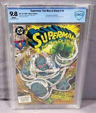 SUPERMAN: THE MAN OF STEEL #18 (Doomsday 1st full app) CBCS 9.8 DC 1992 cgc