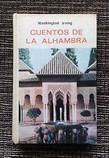 RARE VINTAGE 1973 Cuentos de la Alhambra (Tales of Alhambra), Washington Irving