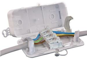Hylec - DEBOX SL - S/l In-line Electrical Connector Terminal Box, 97x50x29mm 6V