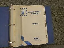 IVECO Model Z340T Diesel Truck Original Parts Catalog Manual Book
