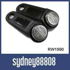 2 x WRITABLE RW1990 IBUTTON TM CARD KEY TAGS DALLAS MAXIM 1-WIRE DS1990A-F5