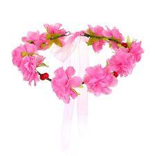 cinta pelo floral CORONA CEREZAS lazo adorno para cabello festival kopfkranz