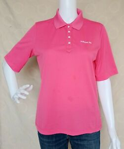 Adidas Women's Shirt Polo Shirt Tops color Pink size may fit L - XL frame