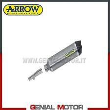 Terminale di Scarico + Raccordo Arrow R. Tech Titanio Honda Nc 700 X 2012 > 2013