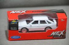 FSO Polonez 1500 Poland Classic Car 1:60 7cm Diecast Model White Colour New Box