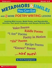 Metaphors And Similes You Can Eat And 12 More Great Poetry Writing  Lesson