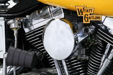 Chrome Wyatt Gatling Air Cleaner Assembly for Harley Davidson by V-Twin