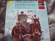 PHILIPS HI-FI STEREO: TCHAIKOVSKY Piano Concertos 1&2 JACQUES KLEIN, by FONATANA