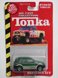 MAISTO TONKA #13 OF 50 DIE CAST METAL MERCEDES SUV GREEN W+