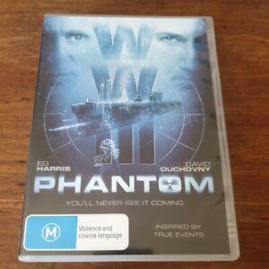 Phantom Ed Harris David Duchovny DVD R4 Like New! FREE POST