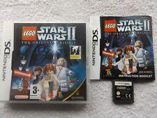 LEGO STAR WARS II 2 THE ORIGINAL TRILOGY NINTENDO DS V.G.C. FAST POST COMPLETE