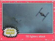 Star Wars JTTFA Neon Parallel Base Card #99 TIE fighters attack