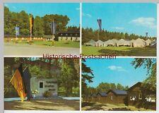 """(99347) AK Zwickau, Mehrbildkarte Pionierlager """"Karl Liebknecht"""", 1975"""
