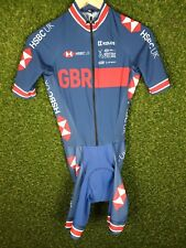 Womens British Cycling GBR Team Road Race Aero Speed Skin Suit Size 2/Small