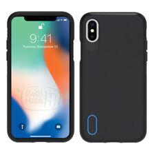 Gear 4 Battersea Estuche Para iPhone x con protección contra impactos D30-Negro/Azul